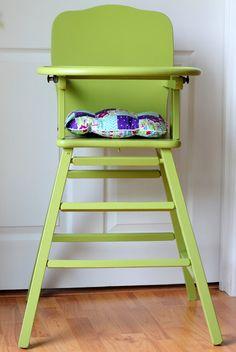 Handmade Frenzy: Chair Cushion Tutorial