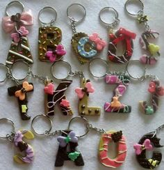 Sweet keychains!