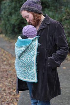 Tír Chonaill - Baby Wearing Edition by Eimear Earley. malabrigo Lace.