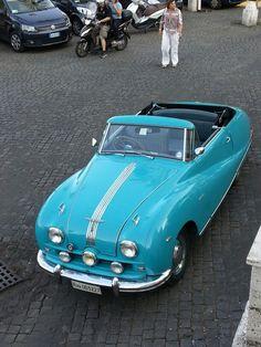 Austin A90 Atlantic Convertible. British car for Italian wedding!. v@e.
