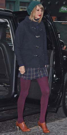 67 Reasons Why Taylor Swift Is a Street Style Pro - December 22, 2014 from #InStyle