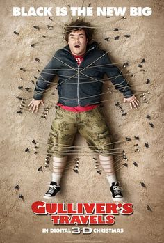 35/365 - Gulliver's Travels: This film was alright. I saw it in English class, which was the only reason I watched it. I'm not the biggest Jack Black fan, what can I say. But it was horrible, either. Just, alright. 2.5/5