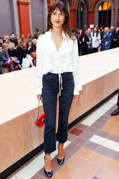 The French Way To Add A Pop Of Color To Your Look