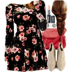 """""""Lydia Inspired Outfit with Requested Dress"""" by veterization on Polyvore"""