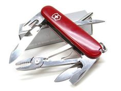 Multi-Tools 66824: Victorinox Swiss Army Red Mechanic Multi-Tool Knife Pliers Driver Opener 53441 BUY IT NOW ONLY: $33.84