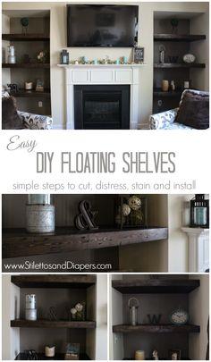 DIY Built in floatin