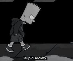 Wherein I relate with Bart Simpson on a frighteningly close level