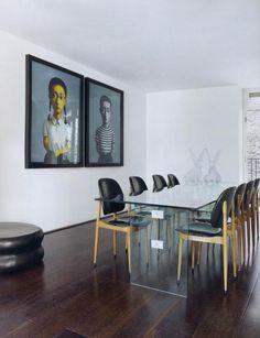 John Rocha's London apartament, AD SPA March 2011 #johnrocha #interior #design #architecture