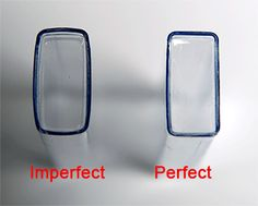 3 inch Clear Flip Top with Cap (50 ea) (Imperfect), Sova Enterprises