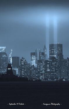 September 11 tribute New York City NYC
