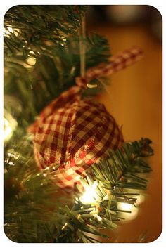 Ragball Ornaments or Bowl Fillers