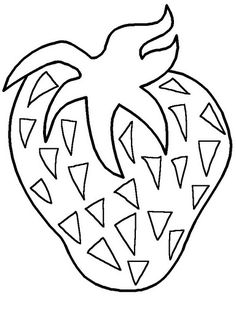 Fruits and Vegetable Coloring Page Crafts and Worksheets for