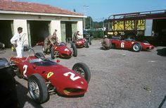 Ferrari at the 1962 Italian Grand Prix The world is a slightly dimmer place that there's no authentic Sharknose on the planet. Ferrari Racing, Ferrari F1, F1 Racing, Racing Team, Audi, Porsche, Bobber, Subaru, F1 Motor