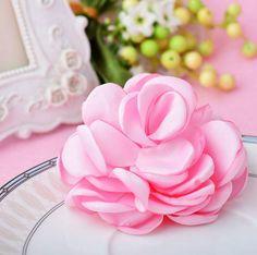 Rose Flower Hair Clip – Sen Fashions