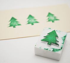 carve make your own stamps diy