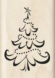 Inkadinkado Calligraphy Christmas Tree Wood Stamp (link doesn't seem to work, but want to save it to look for it later) Christmas Doodles, Christmas Drawing, Christmas Paintings, Christmas Art, Christmas Projects, All Things Christmas, Winter Christmas, Holiday Crafts, Christmas Decorations