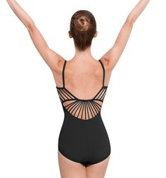 Bloch Adult Rouleaux Back Camisole Leotard