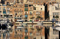 Senglea waterfront. Malta
