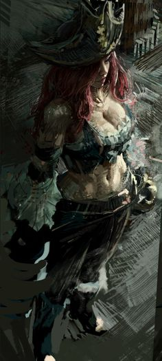 League of legends-miss fortune by - Minecraft, Pubg, Lol and Lol League Of Legends, Katarina League Of Legends, League Of Legends Characters, Miss Fortune, Age Of Mythology, Character Art, Character Design, Pirate Life, Fantastic Art