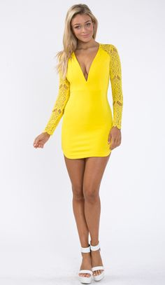 yellow dress  on fire