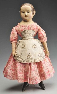 Early Izannah Walker Doll.