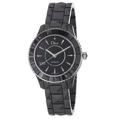 Christian Dior Women's CD1245E0C001 Black VIII Black Dial Automatic Watch -- To view further for this watch, visit the image link.