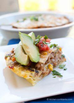 Breakfast Tortilla Pie from Kitchen Confidante