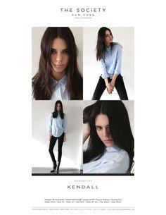 Kendall Jenner @ The Society Management - Polaroids, 2014.