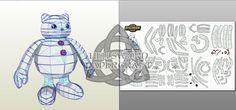 Digimon Frigimon Papercraft by HellswordPapercraft.deviantart.com on @DeviantArt