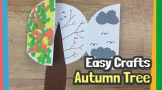 Easy Tree crafts for kids | DIY for Autumn activities