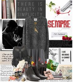 """""""Book Review: Sempré by J.M Darhower"""" by bittersweet89 ❤ liked on Polyvore"""