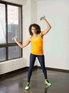 7. Standing Side Crunch  #standing #abs #workout http://greatist.com/move/abs-workout-best-abs-exercises-you-can-do-standing-up