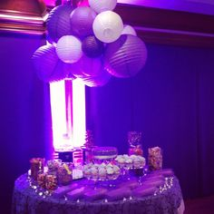 Decoracion mesa de dulces fiesta 15 CLUB Arrayanes