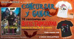 Os invitamos a nuestro nuevo concurso con la película de HOTEL TRANSILVANIA.  ¿Quieres saber cómo participar?   http://www.grandesypeques.com/index.php/grandes/consursos-grandes