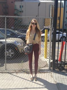 Whitney Ports Outfit of the Day