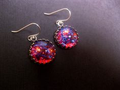 Hey, I found this really awesome Etsy listing at https://www.etsy.com/listing/180585433/dragons-breath-mexican-opal-earrings