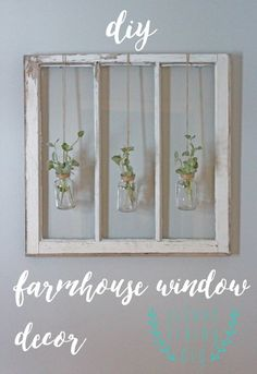 DIY Farmhouse Style Decor Ideas for the Bedroom - DIY Farmhouse Window Decor - Rustic Farm House Ideas for Furniture Paint Colors Farm House Decoration for Home Decor in The Bedroom - Wall Art Rugs Nightstands Lights and Room Accessories Farmhouse Bedroom Decor, Farmhouse Style Decorating, Farmhouse Ideas, Rustic Farmhouse, Kitchen Rustic, Bedroom Rustic, Bedroom Vintage, Kitchen Sink, Rustic Cafe
