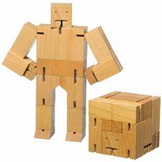 Mini & Beau - Cubebot - Natural