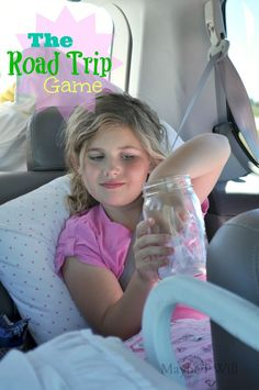 Tired of kids fighting and hearing are we there yet? Try my road trip jar! It's jam packed with 110 questions and activities to keep your kiddos entertained on your next road trip! My kids loved it, we had such a blast playing, the mil The Road, My Road Trip, Road Trip With Kids, Family Road Trips, Travel With Kids, Family Vacations, Family Travel, Road Trip Activities, Road Trip Games