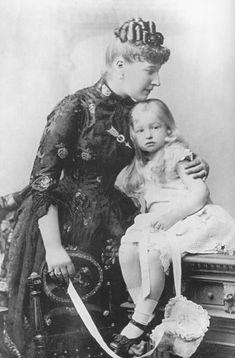 Louise of Belgium, Princess of Coburg, FDxMinnie 5Sep10 detint