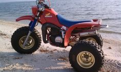 My 1984 Honda ATC250R, my first really really reaaaallllyyy fun dirt bike. Spent my summers on that thing as a teen. <3