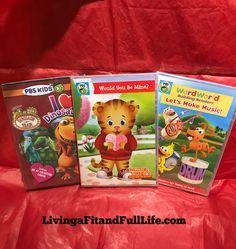 3 PBS KIDS DVD's that are Perfect for Valentine's Day! + Giveaway! @pbskids