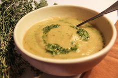 The Perfect Fall Soup: Celeriac, Leek and Potato Soup Celeriac, Potato Soup, Empty, Monsters, Potatoes, Fall, Ethnic Recipes, Autumn, Potato