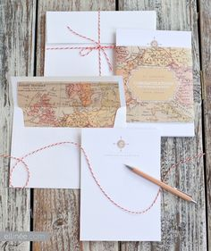 Cute DIY gift cards. I would use them for wedding invitations for a bride and groom who loves to travel or for a destination wedding..