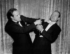 Marlon Brando e Bob Hope 1955