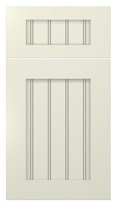 White Beadboard Cabinet Doors