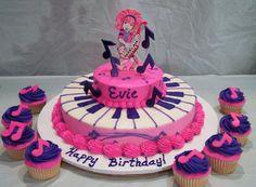 Dee Dee Doodlebop cake