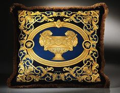 Versace Home Collection; looks terrific and luxe w. just a few of them