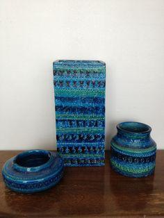 italian  'bitossi 'ceramics