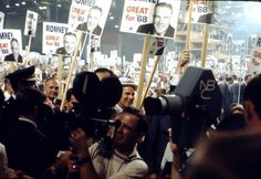 Politics runs in the Romney family! Mitt's father, George W. Romney, ran for the Republican nominination in 1968. | Florida Memory